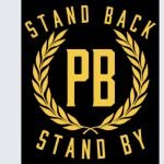 """Proud Boys New Logo with Trump's Call to """"Stand By"""""""